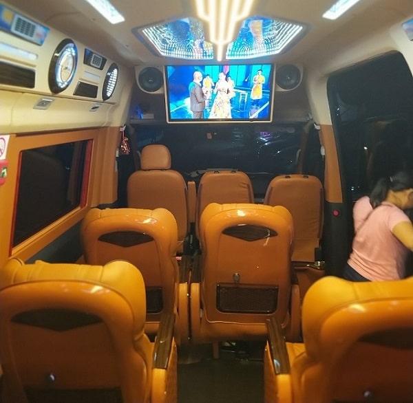 Xe Limousine Đi Cha Diệp5